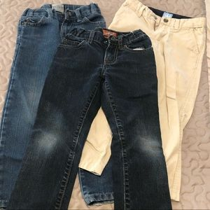 Lot of Blue Jeans